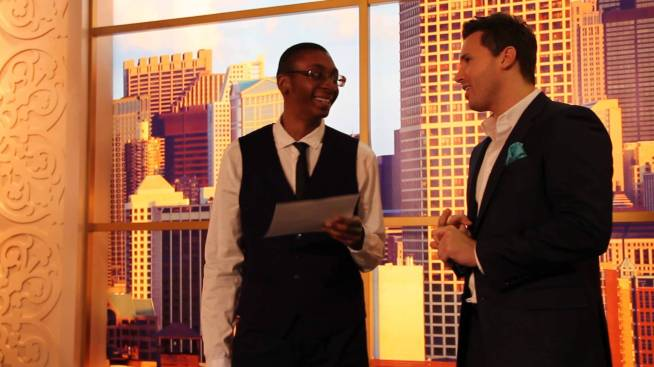 This is a screenshot from when I interviewed ABC7 Chicago Windy City Live co-host Ryan Chiaverini