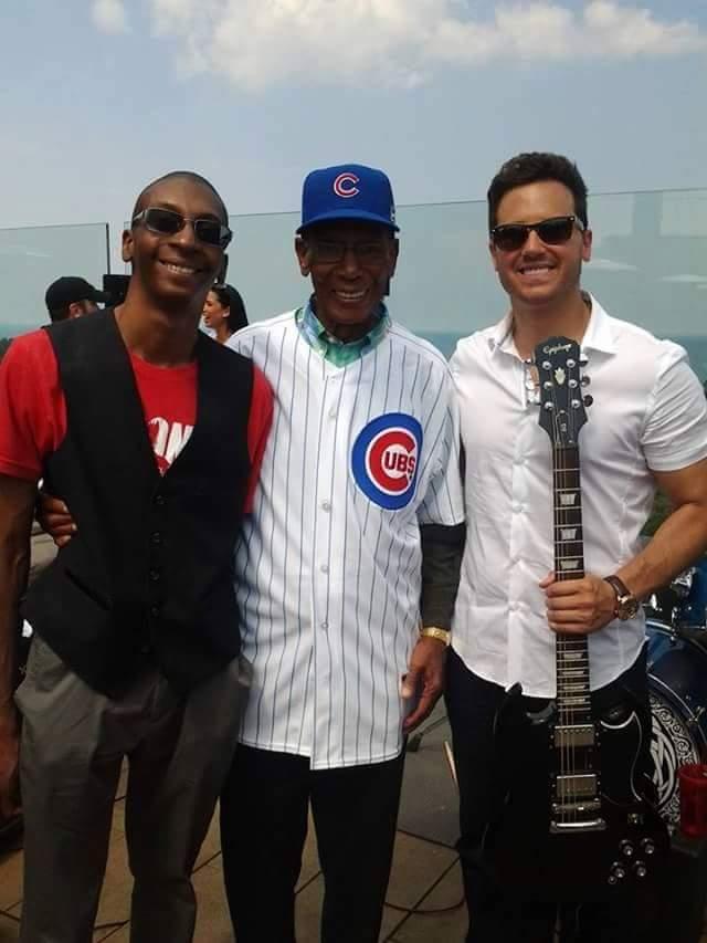 Joshua Conner, Ernie Banks and Ryan Chiaverini